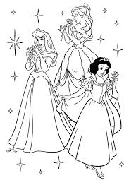Free Printable Disney Princess Coloring Pages Christmas