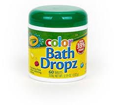 amazon com crayola bath dropz 3 59 oz 60 tablets pack of 2