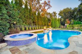 Hot Tub Landscaping For The Beginner On A Budget Best 25 Large Backyard Landscaping Ideas On Pinterest Cool Backyard Front Yard Landscape Dry Creek Bed Using Really Cool Limestone Diy Ideas For An Awesome Home Design 4 Tips To Start Building A Deck Deck Designs Rectangle Swimming Pool With Hot Tub Google Search Unique Kids Games Kids Outdoor Kitchen How To Design Great Yard Landscape Plants Fencing Fence