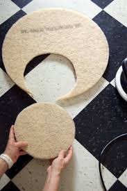 diy home floor burnisher from car polisher and burnishing pads the