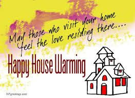 Happy House Warming
