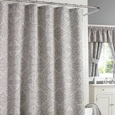 Gray Sheer Curtains Bed Bath And Beyond by Buy Silver Shower Curtain From Bed Bath U0026 Beyond