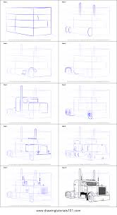 How To Draw Peterbilt 379 Truck Printable Step By Step Drawing ... How To Draw A Vintage Truck Fire Step By Teaching Kids How Draw Cartoon Dump Truck Youtube Monster Step Trucks Transportation Speed Drawing Of To A Race Car Easy For Junior Designer An F150 Ford Pickup Sketch Drawing Dolgularcom Click See Printable Version Connect The Dots Delivery With Hand Stock Vector Art Illustration 18 Wheeler By 2 Ways 3d Hd Aston