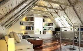 dachschräge und farbwirkung räume unter dem dach wirken lassen
