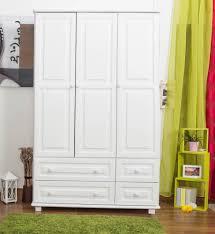 kiefer schrank landhaus farbe weiß 190x120x60 cm