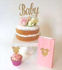 Cakes Toppers Baby Shower Party XYZ