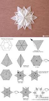 Paper Folding Origami Flower Star Instructions Tutorial