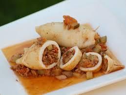 cuisiner l encornet recette encornets farcis viande légumes cuisinez encornets farcis