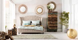 schlafzimmer wand spiegel dekoration kare austria