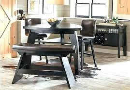Triangular Dining Set Counter Height Table
