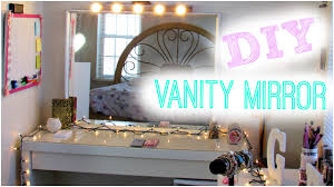 Diy Vanity Table Mirror With Lights by Diy Hollywood Vanity Light Mirror Diy Room Decor Easy Cheap