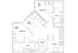 2 Bed 2 Bath U Centre on Turner Student Housing Columbia MO