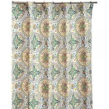 Cynthia Rowley Jacobean Floral Curtains by Cynthia Rowley Floral Cotton Shower Curtain