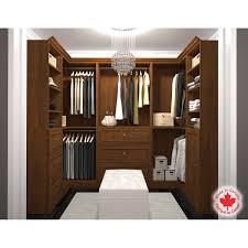 bestar organize it brown u shape closet