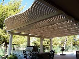 Louvered Patio Covers California by Best Alumawood Patio Covers Design