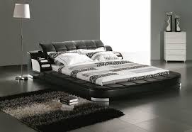 Bedroom Incredible Unique Modern Contemporary Black And White King