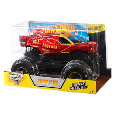 Hot Wheels Monster Jam Iron Man Vehicle - Walmart.com