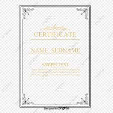 Vector Simple Carta De Nombramiento Certificado Simple