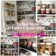 Pantry Organization Ideas on a Bud Dollar Store and Repurposed