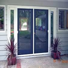 Storm Doors For French Doors Door Screens A Sliding Door Pella