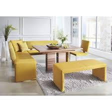 eckbank in textil gelb eckbank küchentisch mit bank wohnen