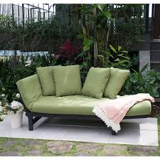 better homes and gardens delahey studio day sofa with cushions