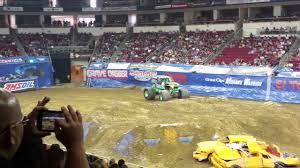 100 Monster Trucks Fresno Ca Jam CA 2017 Grave Digger And NEA Freestyle YouTube