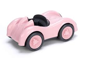 Amazon.com: Green Toys Race Car-Pink: Toys & Games