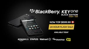 canadians can save 100 on the blackberry keyone black edition