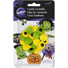 Bad Halloween Candy List by Amazon Com Wilton Candy Eyeballs 0 88 Ounce Count Of 50 Candy