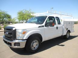 USED 2013 FORD F250 SERVICE - UTILITY TRUCK FOR SALE IN AZ #2374