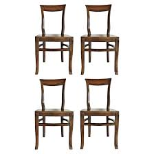 Curved Back Oak Dining Chairs – Idahohens.com
