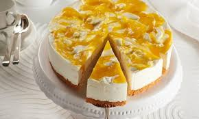 feine quark mango torte