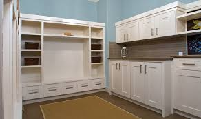 Huntwood Cabinets Arctic Grey by Spacious Utility Mudroom Custom Cabinets