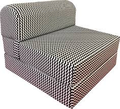 ZigZag 6 X 32 X 70 Sleeper Chair Folding Foam Bed, Studio Guest Beds