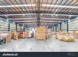 100 Warehouse In Melbourne Australia July 1st 2016interior Stock
