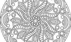 Free Printable Mandalas Coloring Pages Adults