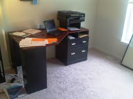 Omnirax Presto 4 Studio Desk Black Dimensions by Sauder Beginnings Corner Desk
