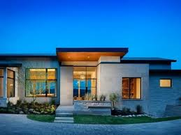 Large One Story Homes by Architecture Modern One Story Home Designs With Woodne Walls And