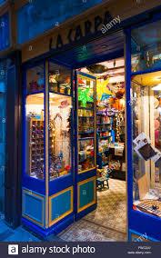Windows Of Vintage Toy Shop La Varpa In Girona Spain