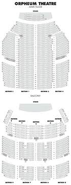 Nice Chicago Theatre Seating Chart Chicago Theater