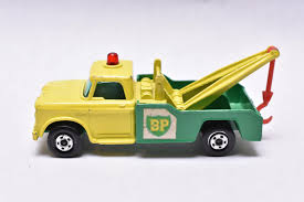 100 Matchbox Tow Truck Superfast No13 Dodge BP Wreck 1970s