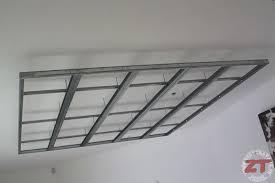 creer un faux plafond avec brico cr ation d ruban led et spots