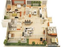 Harmonious Houses Design Plans by 14 Harmonious 1 Story 4 Bedroom House Plans New On Impressive 78