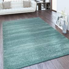 kurzflor teppich wohnzimmer einfarbig