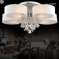 fernbedienung farbwechsel k9 hochwertigen licht kristall acryl schatten schlafzimmer deckenleuchten wohnzimmer moderne deckenleuchte