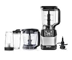 Amazon Ninja Blender And Food Processor System With 1200 Watt Auto IQ Base 72oz Pitcher 40oz Blend Prep Bowl Dough Tool 2 24oz Cups
