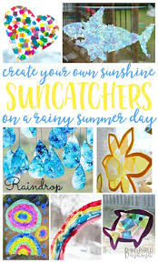 20 Suncatcher Craft Ideas for Kids Bring Sun to a Rainy Day