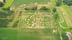 Pumpkin Patch Near Cincinnati Oh by Susan B Anthony Corn Maze Here In Wny That Commemorates The 100