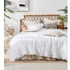 tagesdecke bett sofaüberwurf 200x220 weiß decke bettüberdecke tages decken vintage retro ehebett doppelbett